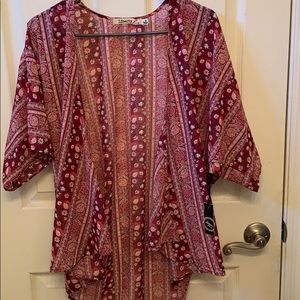 Never before worn floral cardigan